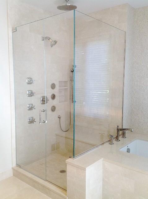 Custom shower doors contemporary shower doors for Bathroom supply chicago