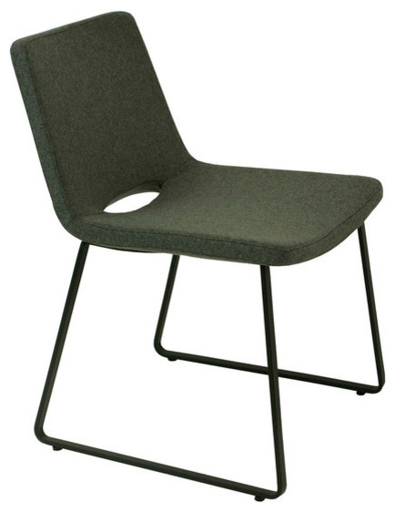 Nevada flat dining chair contemporary dining chairs for Modern dining chairs vancouver