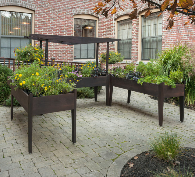 Octave 3 Elevated Garden System Contemporary Indoor