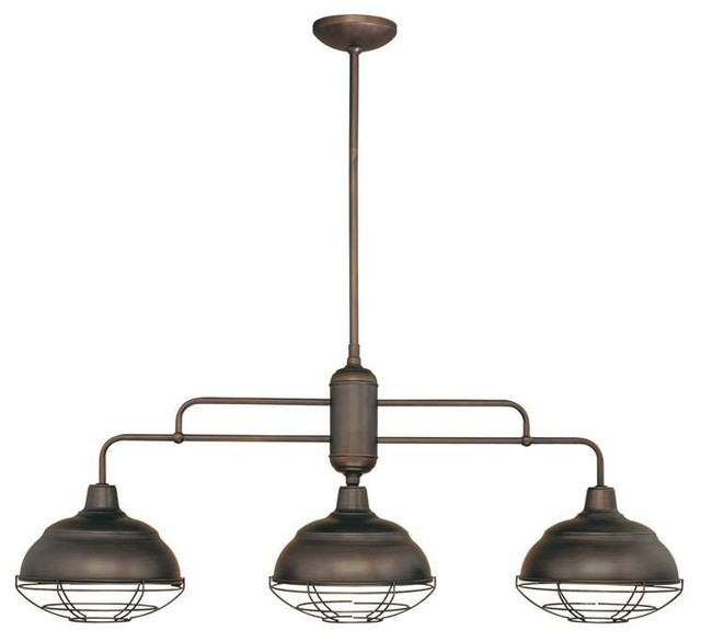 Millennium Lighting Neo Industrial Island Light Beach