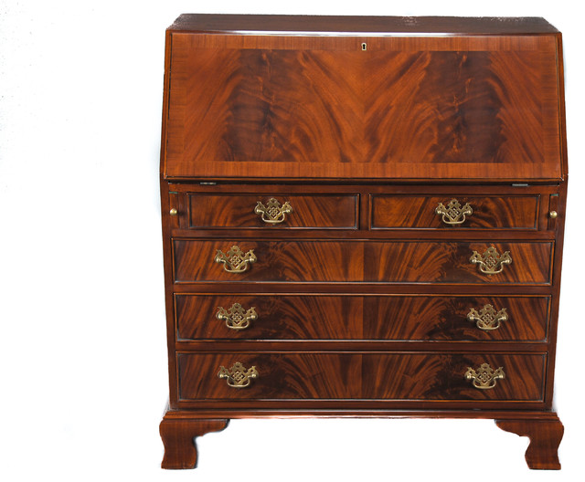 Mahogany Secretary Desk - Traditional - Desks And Hutches - by Niagara Furniture