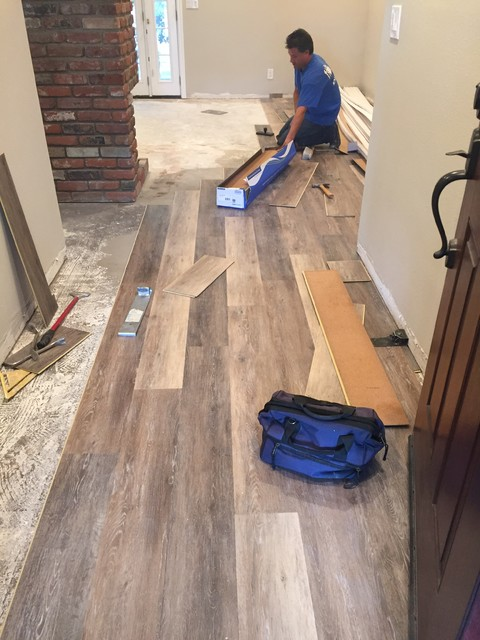 Coretec Plus- Blackstone Oak - Rustic - Vinyl Flooring ...