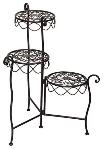 Furnistars Iron 3 Level Plant Stand Circular Scroll Design Asian Plant Stands And Telephone Tables in addition Buenos dias moreover Silverware together with Search also Elm Coffee Table. on rustic coffee table