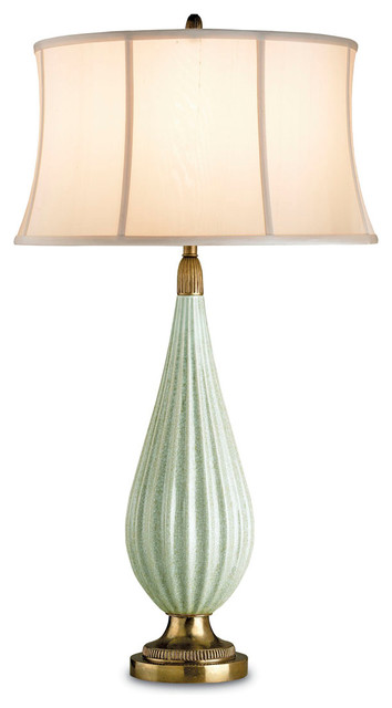 Green Crackle Table Lamp Best Inspiration For