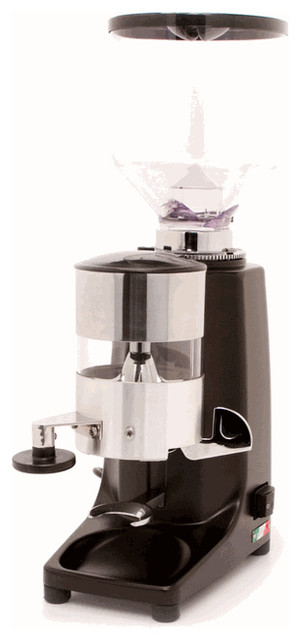 Coffee Maker With Grinder Timer : Quamar M80 Timer Grinder in Black - Contemporary - Coffee Grinders - by Whole Latte Love