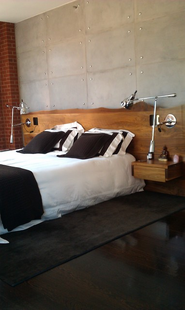 Concrete Wall Panels Contemporary Headboards New