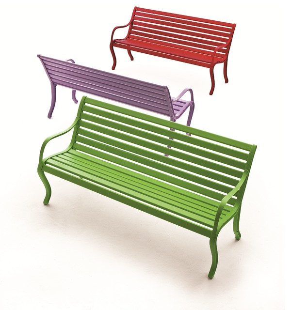 FAST Spa In Out Cast Aluminium Furniture Contemporary Outdoor Benches