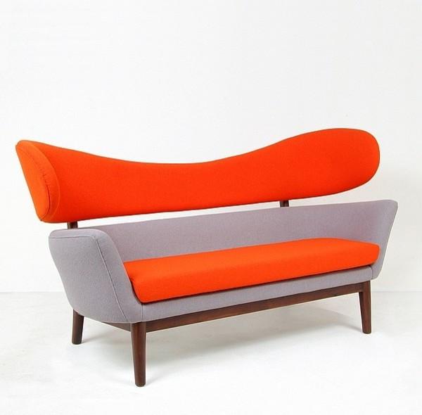 Juhl Baker Sofa Reproduction Midcentury Sofas Other