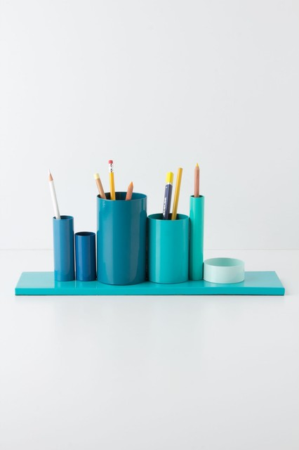 Multiples Pencil Holder Contemporary Desk Accessories
