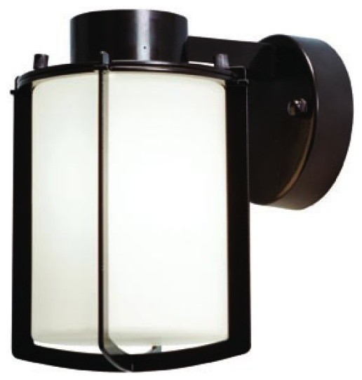 Wall Sconces For Damp Locations : Totana 1-Light Outdoor Wet Location Wall Fixture - Modern - Outdoor Wall Lights And Sconces - by ...