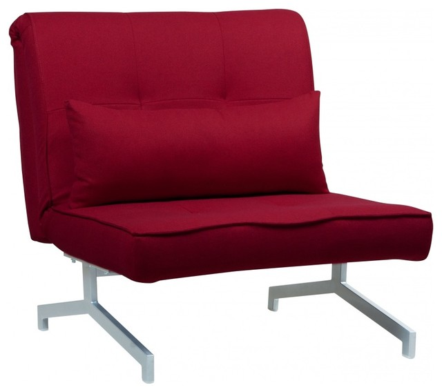 schlafsessel cardini uno rot bauhaus look schlafsessel. Black Bedroom Furniture Sets. Home Design Ideas