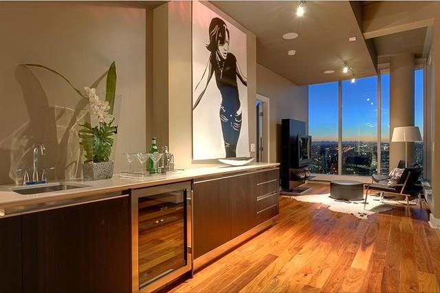 Calgary Penthouse Contemporary Artwork Vancouver By Quintaro