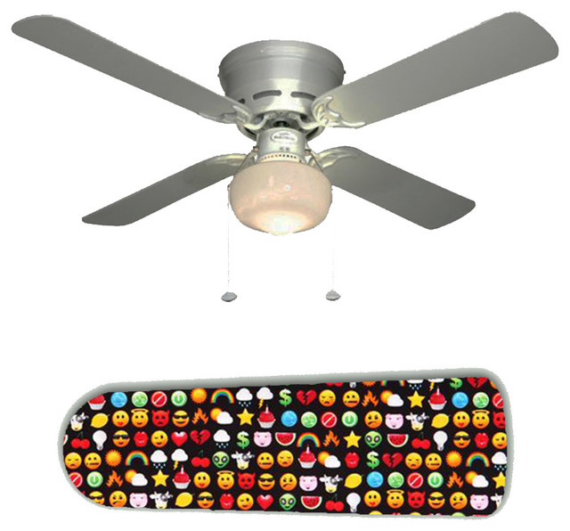 Video Arcade Game Emoticons 42 Ceiling Fan And Lamp