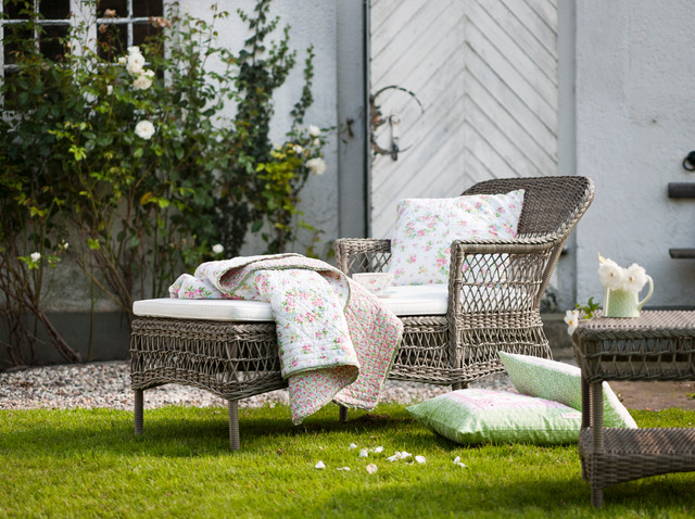 Georgia Garden Olivia Chaiselounge Traditional Patio Furniture And Outdoor Furniture By