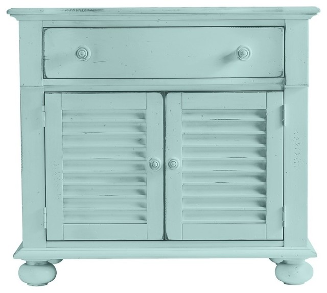 Stanley Furniture Coastal Living Cottage Summerhouse Chest in Sea Mist ...