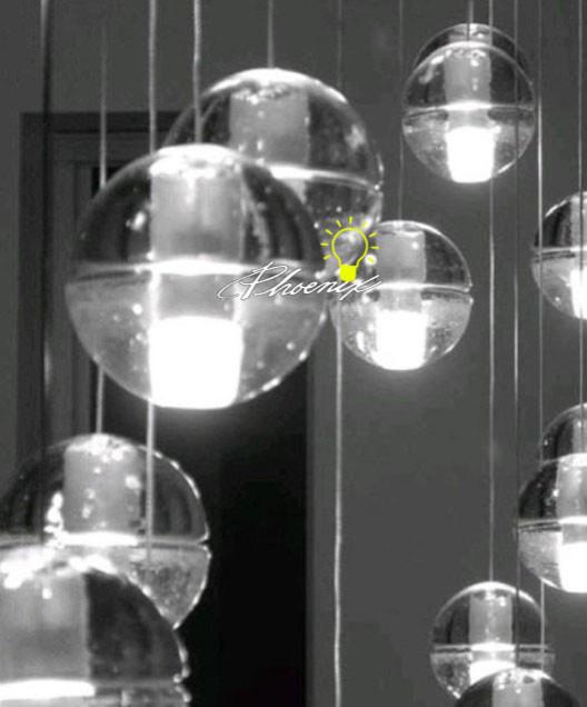 crystal ball lights ball pendant lighting