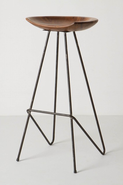 perch barstool anthropologie industrial bar stools