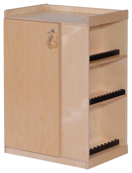 Steffywood Home Entertainment Storage Cabinet Audio Center ...