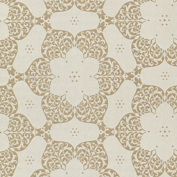 carte blanche wall paper gold suede medallion wallpaper
