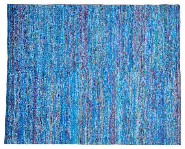 colorful sari silk knotted zero pile rug sh22946 modern area rugs by 1800