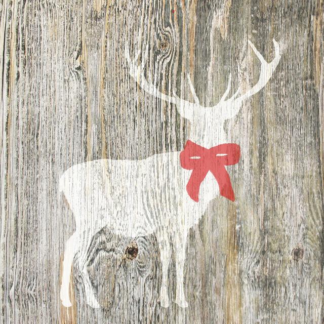 Christmas Stag Christmas Craft Wood