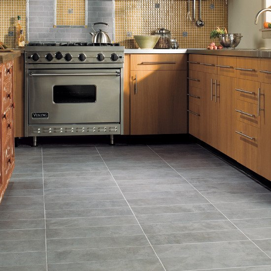kitchen floor eclectic wall and floor tile