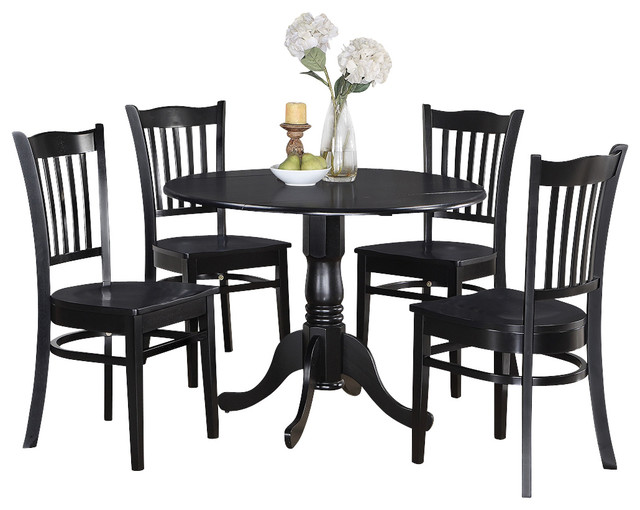 3 pc small kitchen table and chairs set round kitchen for Traditional round dining table sets