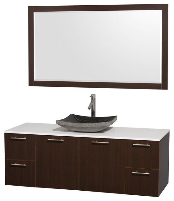 floating bathroom vanities contemporary bathroom vanities and sink consoles los angeles. Black Bedroom Furniture Sets. Home Design Ideas