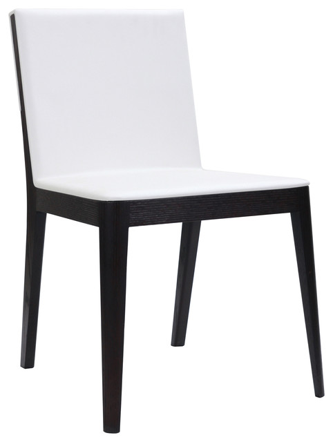 rossini dining chairs white set of 2 contemporary