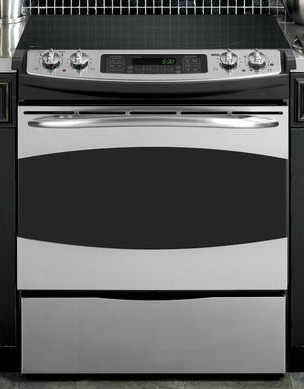Ge Profile Slide In Electric Range Contemporary Gas