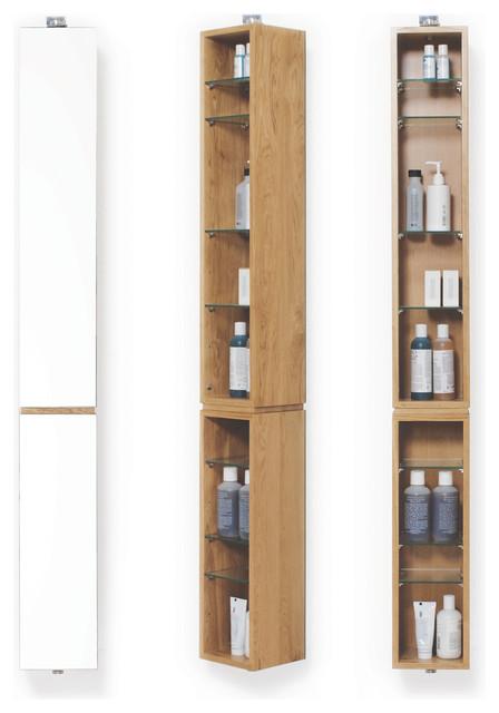 Wireworks Light Oak Mezza Revolve 1520 Bathroom Cabinet Modern Bathroom Cabinets By Heal 39 S