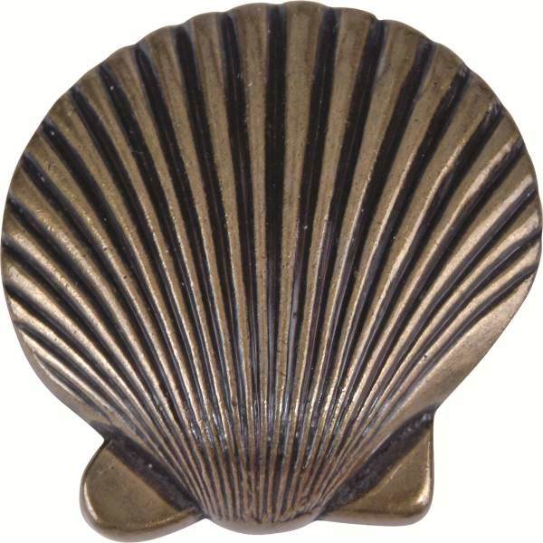 Atlas 143 bb sea 2 inch clamshell design door knob for Clamshell door