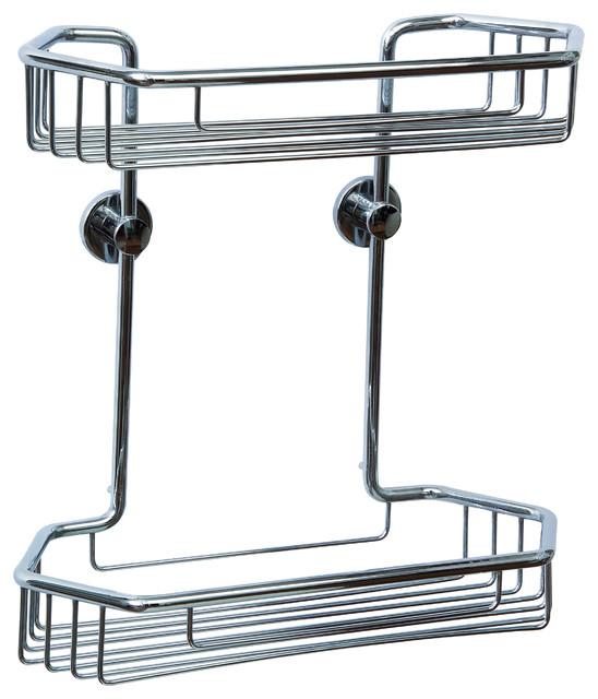 Wonderful Shop No Drilling Required Baath Plus Chrome Steel Bathroom Shelf At