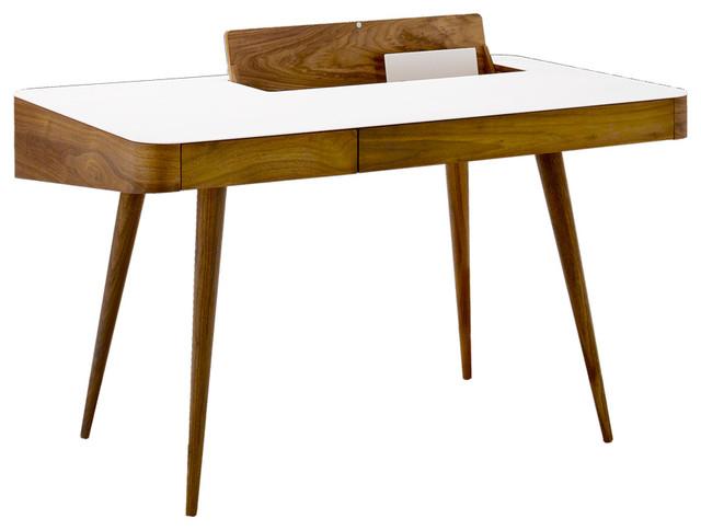 Corian Walnut Desk Modern Desks Writing Bureaus By The Conran Shop