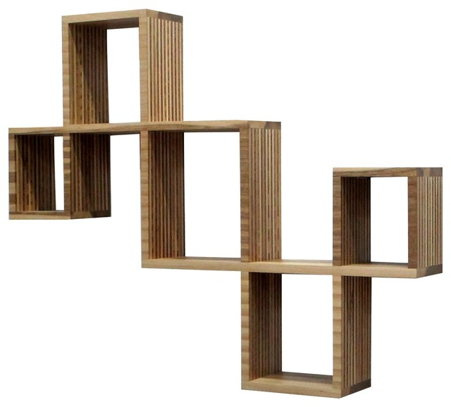 Home Office Contemporary Display Wall Shelves