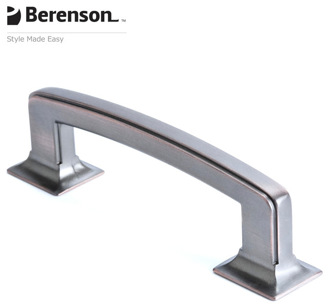 4069-10VB-P Verona Bronze Cabinet Pull by Berenson - Transitional - Cabinet And Drawer Handle ...