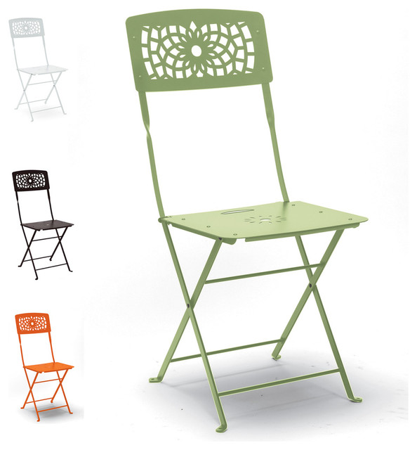39 Gala 39 Classic Green Folding Garden Chair By Scab Design Contempora