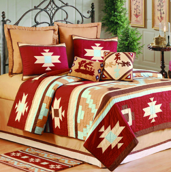 Canyon Dance Earth Bedding Collection - Eclectic - Bedding ...