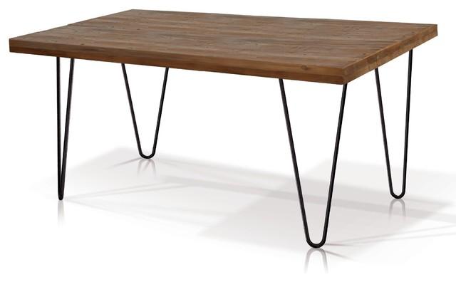 Reclaimed Wood Rectangular Dining Table Rustic Dining  : rustic dining tables from www.houzz.com size 640 x 396 jpeg 28kB