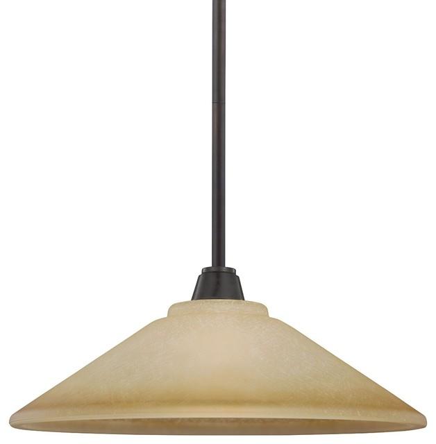 1-Light Pendant - Classico - Lampade a sospensione - di Sea Gull Lighting