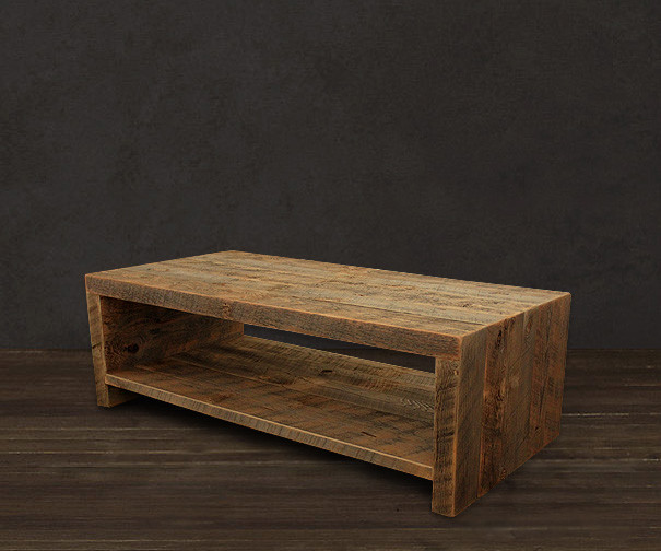 Reclaimed Wood Coffee Table - Modern - Coffee Tables - denver - by JW Atlas Wood Co.