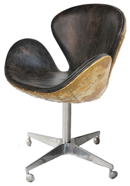 Devon Spitfire Leather Office Chair Contemporary