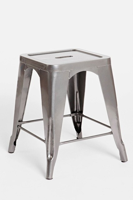 Metal Stool Charcoal Industrial Bar Stools And