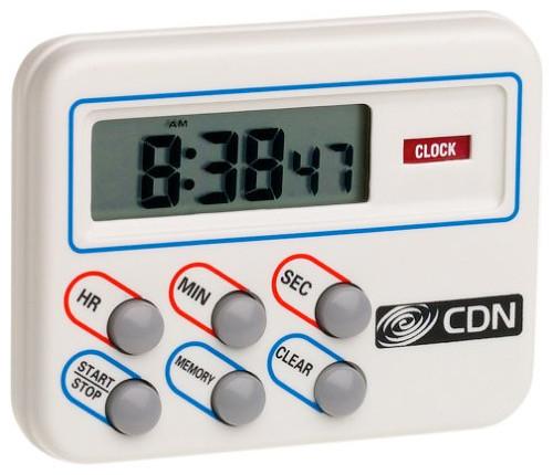 CDN TM8 Digital Cooking Timer & Clock Kitchen Timer