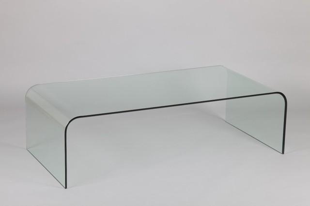 Table basse jade en verre contemporary coffee tables - Tables basse en verre ...