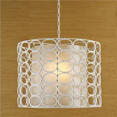 Informal Beacon Lighting Drum Pendant Ceiling Lights brushed