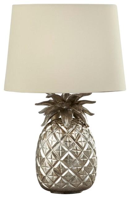 pineapple champagne table lamp with sable shade klassisch tischleuchten von laura ashley. Black Bedroom Furniture Sets. Home Design Ideas