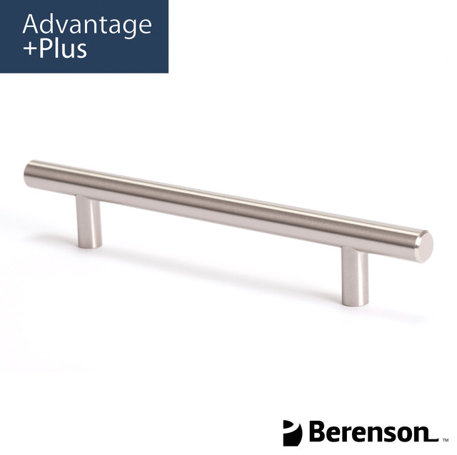 ... Nickel Cabinet Pull by Berenson modern-cabinet-and-drawer-handle-pulls
