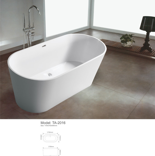 Modern freestanding bathroom bathtub modern bathtubs for Modern bathroom with tub