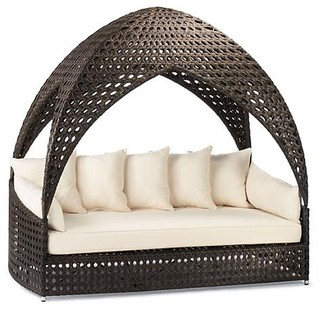 Bali outdoor daybed frontgate patio furniture for Balinese chaise lounge